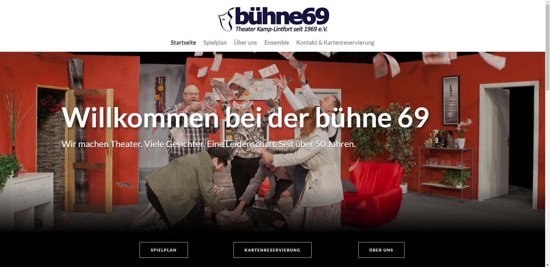 Internetseite für die Ossenberger Mühle in Rheinberg