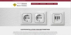Startseite der Internetpräsenz von Elektromeister Clostermann aus Ratingen