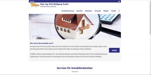Internetseite Wolfgang Teufel